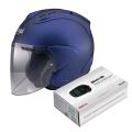 Pack SZ-R Vas Matt Blue + Kit Bluetooth Sena SMH5