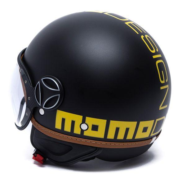 Momo Design FGTR Classic Heritage Matt Black Yellow