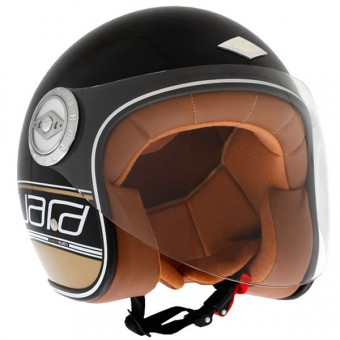 Casque Open Face Edguard Dirt Ed Logo Black Gold