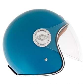 Casque Open Face Edguard Dirt Ed Original Blue