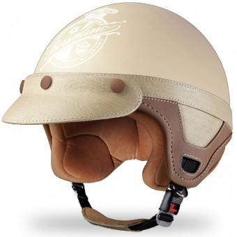 Casque Open Face Borsalino Panama Cream Mat