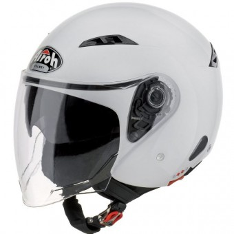 Casque Open Face Airoh City One White
