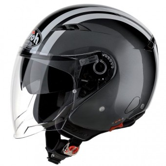 Casque Open Face Airoh City One Flash Charcoal