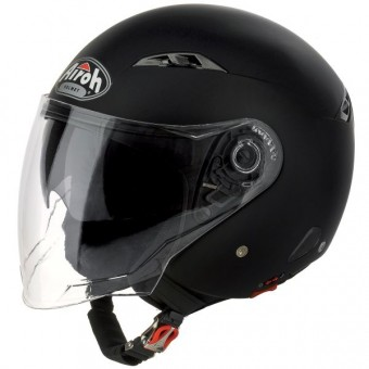 Casque Open Face Airoh City One Matt Black