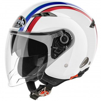 Casque Open Face Airoh City One Style White