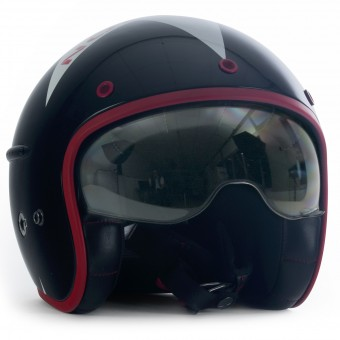 Casque Open Face HARISSON Corsair Stellar Black White Red