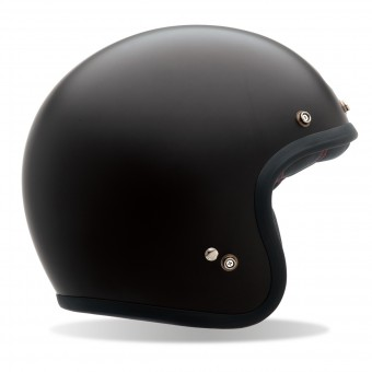 Casque Open Face Bell Custom 500 Matt Black