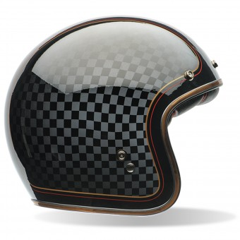 Casque Open Face Bell Custom 500 Roland Sands Check It Dlx