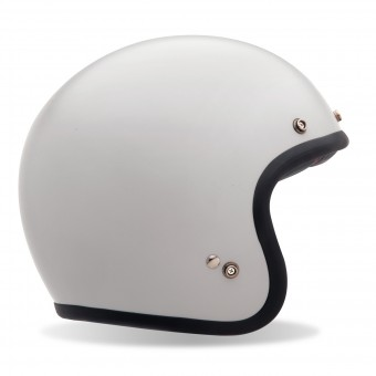 Casque Open Face Bell Custom 500 Vintage White Dlx