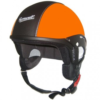 Casque Open Face Cromwell Custom Matte Orange