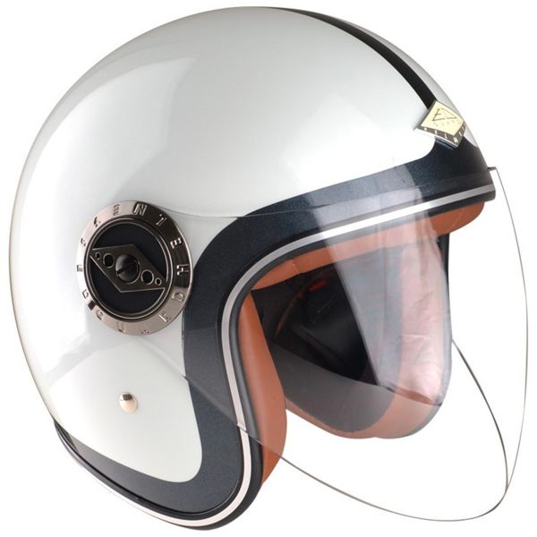 Open Face Edguard Dirt Ed Heritage White