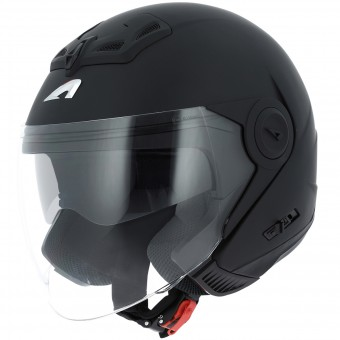 Casque Open Face Astone DJ 8 Matt Black