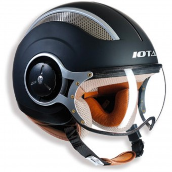 Casque Open Face IOTA DP06 Vented Matt Black