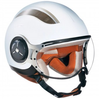 Casque Open Face IOTA DP06 Vented White