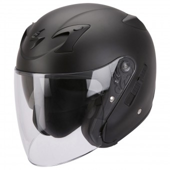 Casque Open Face Scorpion EXO 220 Black Matt