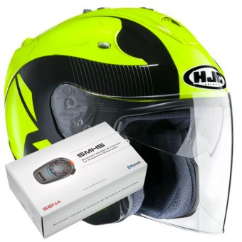 Casque Open Face HJC FG-Jet Acadia MC4