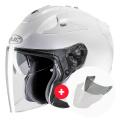 Pack FG-Jet White + Visor