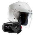 Pack FG-Jet White + Kit Bluetooth Sena 5S Solo