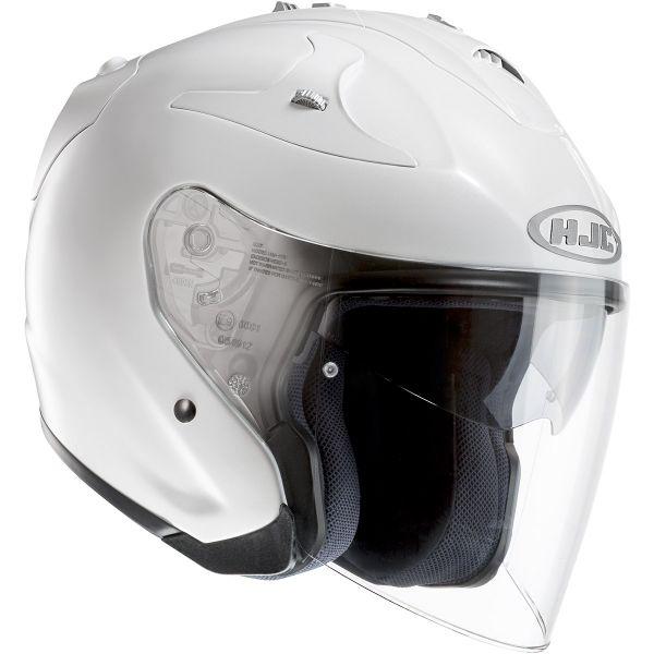 Open Face HJC FG-Jet White