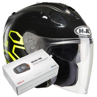 Casque Open Face HJC FG-Jet Dukas MC4H