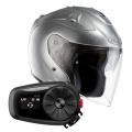 Pack FG-Jet Grey + Kit Bluetooth Sena 5S Solo