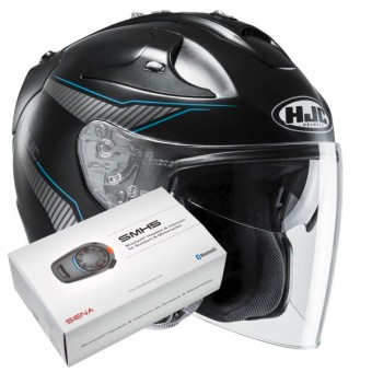 Casque Open Face HJC FG-Jet Jike MC2SF