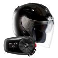 Pack FG-Jet Black + Kit Bluetooth Sena 5S Solo