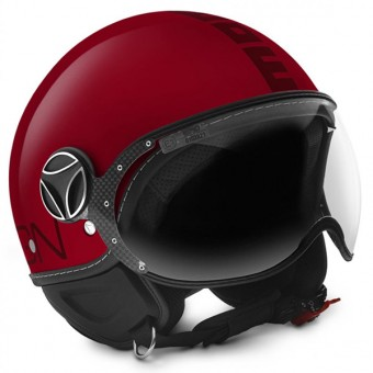 Casque Open Face Momo Design FGTR Classic Burgundy