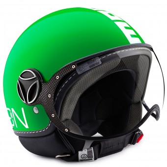 Casque Open Face Momo Design FGTR Classic Green