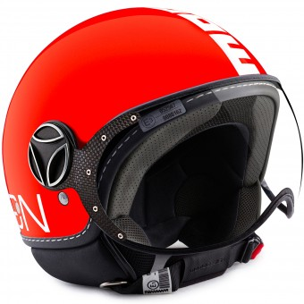 Casque Open Face Momo Design FGTR Classic Orange