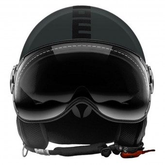 Casque Open Face Momo Design FGTR Evo 3 Asphalt Black