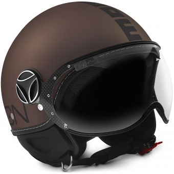 Casque Open Face Momo Design FGTR Evo 3 Frost Tobacco