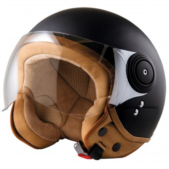 Casque Open Face Stormer Flow Matt Black