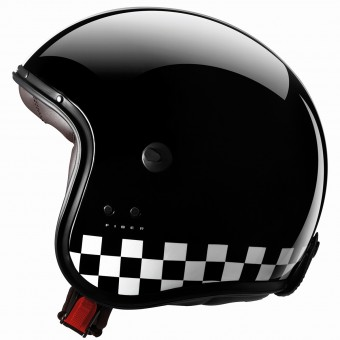 Casque Open Face Caberg Freeride Indy Black White