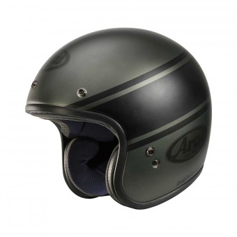 Casque Open Face Arai Freeway Classic Bandage Green