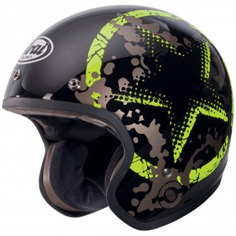 Casque Open Face Arai Freeway 2 Classic Comet Green