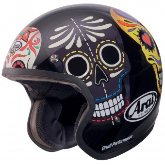 Casque Open Face Arai Freeway 2 Classic Skull