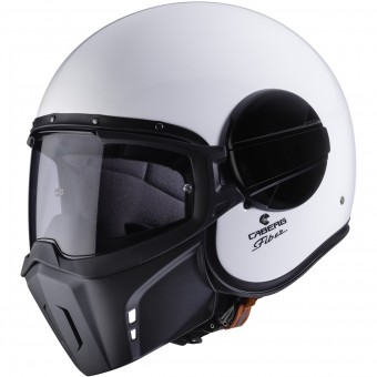 Casque Open Face Caberg Ghost White