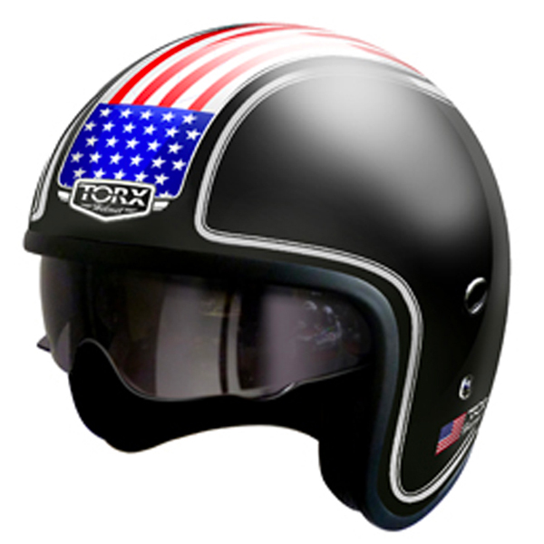 Open Face Torx Harry Flag USA