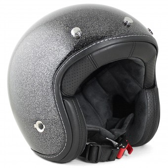 Casque Open Face HARISSON Hellcat Glitter Black