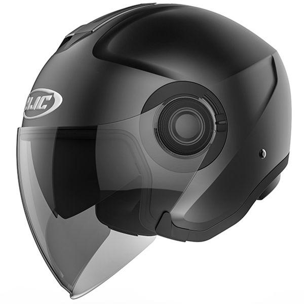 Open Face HJC I40 Semi Flat Black