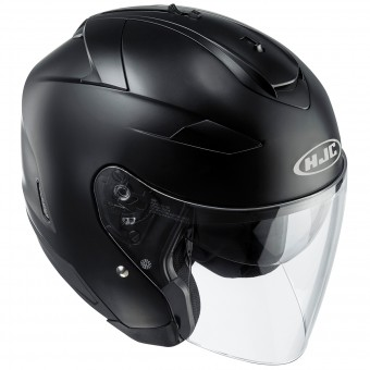 Casque Open Face HJC IS-33 II Semi Flat Black
