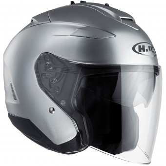 Casque Open Face HJC IS-33 II Semi Flat Silver