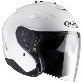Casque Open Face HJC IS-33 II White