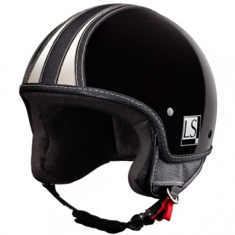 Casque Open Face Laura Smith Custom R66 Black Brillant
