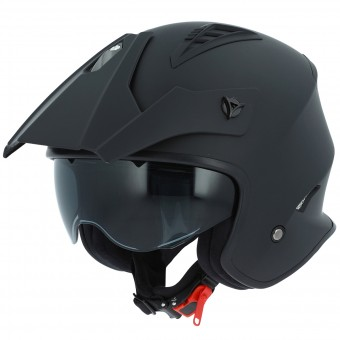 Casque Open Face Astone Minicross Matt Black