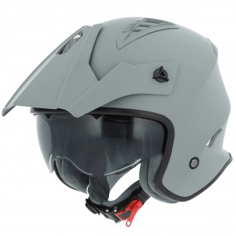 Casque Open Face Astone Minicross Matt Grey
