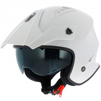 Casque Open Face Astone Minicross White