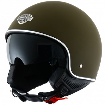 Casque Open Face Astone Minijet 66 Matt Army