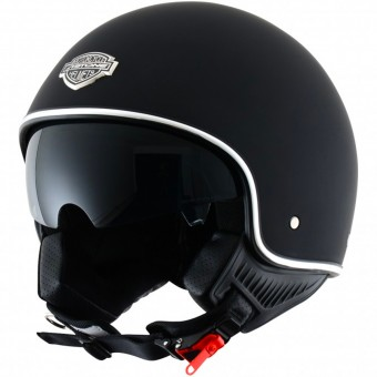 Casque Open Face Astone Minijet 66 Matt Black